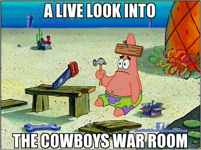 Cowboys War Room