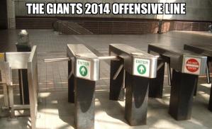 Giants 2014 line