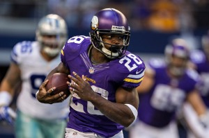 Adrian Peterson- Getty Images