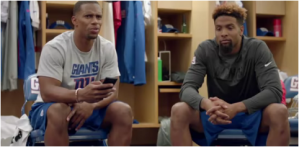 Odell and Victor Cruz